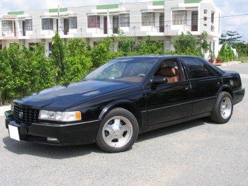 """Cảm nhận """"hàng khủng"""" Cadillac STS máy 4.9L"""