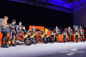 Đội đua MotoGP Red Bull KTM Factory chính thức trình làng