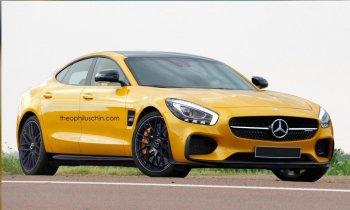 Mercedes-AMG GT4 Concept – Bản sedan của SLS AMG