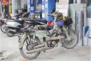 Khó thu hồi xe máy cũ nát