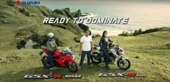 """Suzuki """"nhá hàng"""" hai xe GSX-R150 và GSX-S150"""