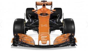 Chiêm ngưỡng xe đua F1 2017 của McLaren