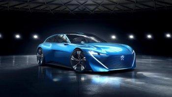 Peugeot tung concept xe tự lái 300 mã lực