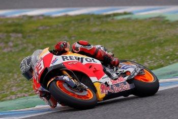 Moto GP 2017: Marc Marquez chấn thương trong ngày chạy thử ở Jerez