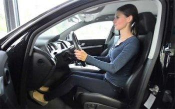Cách chỉnh ghế chuẩn cho tài xế