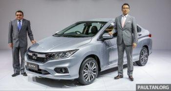 Honda City 2017 chính thức ra mắt tại thị trường Malaysia