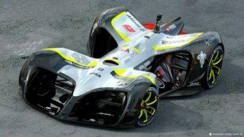 Robocar: Xe đua tự lái chạy điện đầu tiên trên thế giới
