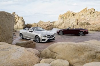 Mercedes-Benz công bố phiên bản Cabriolet cả dòng E-Class 2018
