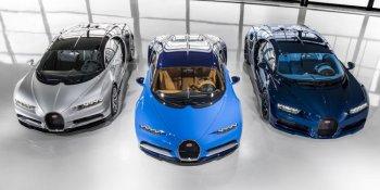 3 chiếc Bugatti Chiron đầu tiên đã đến tay khách khàng