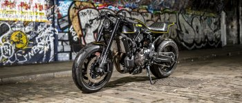 "Rough Crafts biến hóa Yamaha XSR 700 ""hai mặt"""