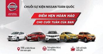 Nissan mở chuỗi sự kiện lái thử xe đặc biệt trong tháng 3