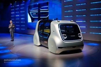 """Geneva Motor Show 2017: Volkswagen """"khai hỏa"""" bằng xe tự lái Sedric"""