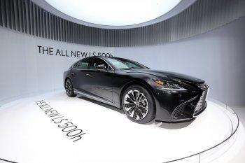 Lexus trình làng phiên bản Hybrid của mẫu sedan LS 500