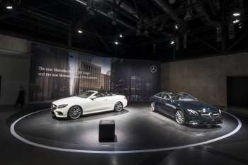 Mercedes-Benz mang E-Class Cabriolet 2018 ra mắt tại Geneva