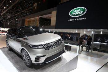 Cận cảnh mẫu SUV Range Rover Velar hoàn toàn mới
