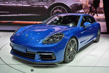 """""""Siêu wagon"""" Panamera  Sport Turismo của Porsche trình làng"""