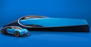 """Du thuyền Niniette 66: """"Cặp đôi hoàn hảo"""" của Bugatti Chiron"""