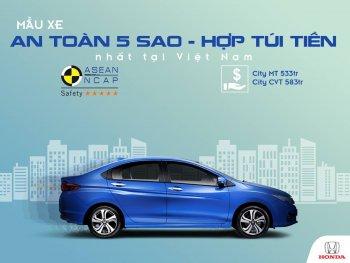 Honda City giành giải xe an toàn nhất Việt Nam