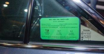 Ôtô dưới 9 chỗ bắt buộc dán nhãn năng lượng từ năm 2018