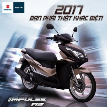 Suzuki Impulse 125 FI mới đạt tiêu chuẩn khí thải Euro 3