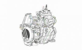 KTM sản xuất cào cào 2 thì phun xăng điện tử