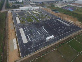 Cận cảnh trung tâm Lái xe an toàn triệu đô của Honda Việt Nam
