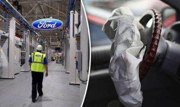 Xe Ford sắp có túi khí bảo vệ người đi bộ