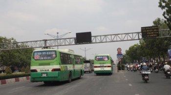 TP.HCM có 2 đường dành làn riêng cho xe buýt