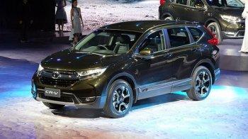 Honda CR-V 2017 bản 7 chỗ chính thức ra mắt tại Thái Lan