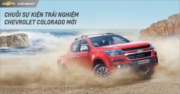 Chevrolet mời khách hàng lái thử Colorado 2017