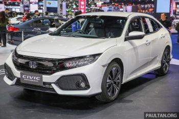 Cận cảnh Honda Civic Hatchback 2017 tại Thái Lan