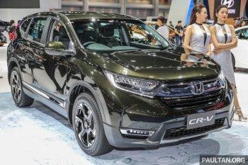 Chi tiết Honda CR-V 2017 ra mắt tại Thái Lan