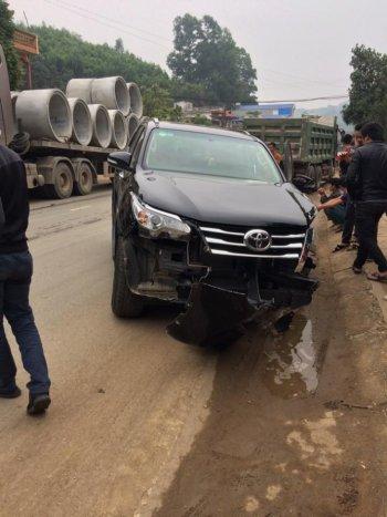 Thái Nguyên: Toyota Fortuner không bung túi khí khi gặp tai nạn