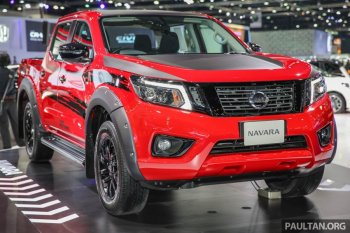Nissan ra mắt bản Navara Black Edition tại Bangkok Motor Show 2017