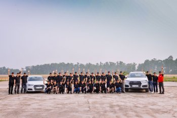 Audi tập huấn lái xe cho diễn đàn kinh tế APEC 2017 tại Việt Nam