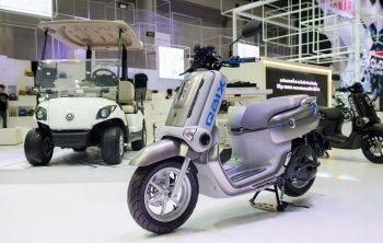 Yamaha QBIX – xe ga siêu dị thu hút người xem tại Bangkok Motor Show 2017