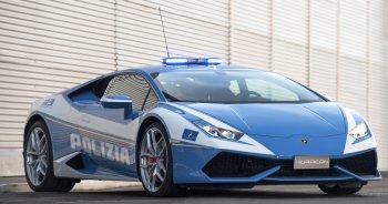 """""""Phát thèm"""" với siêu xe Lamborghini mới của cảnh sát Ý"""