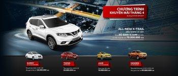 """Chương trình ưu đãi """"khủng"""" với khách hàng mua xe Nissan trong tháng 4"""