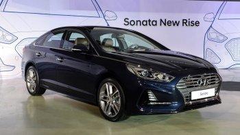 Hyundai Sonata 2018 sẵn sàng đến New York Auto Show