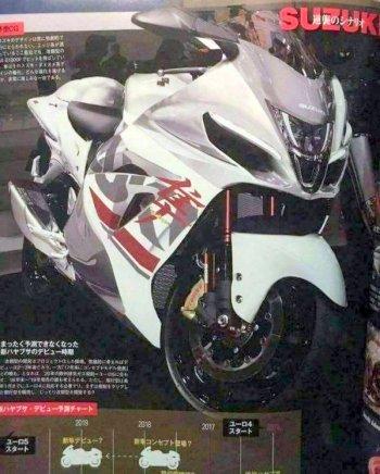 Rò rỉ hình ảnh Suzuki Hayabusa thế hệ tiếp theo?