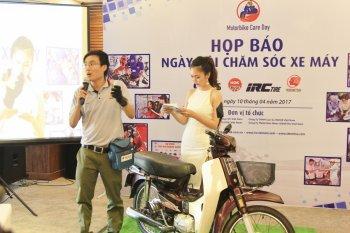 """Các """"ông lớn"""" phụ tùng Nhật Bản mở Ngày hội chăm sóc xe máy 2017"""