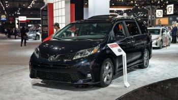 Toyota Sienna 2018 đến New York Auto Show