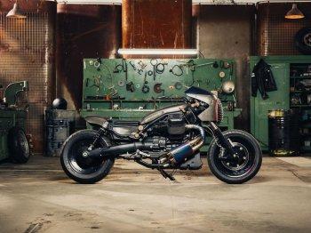 Moto Guzzi khoác áo giáp chiến binh cực chất