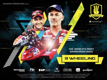 """""""3 Wheeling"""" – bộ phim tôn vinh bộ môn đua sidecar tại Isle of Man TT"""