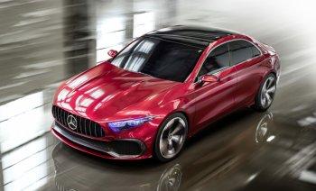 Mercedes-Benz trình làng Concept A Sedan