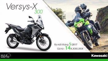 Kawasaki Việt Nam chuẩn bị cho ra mắt Versys-X 300