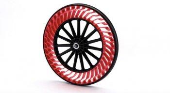 Lốp xe không cần không khí sẽ được trang bị trên mô tô?