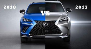 Sự khác biệt giữa Lexus NX 2018 và Lexus NX 2017