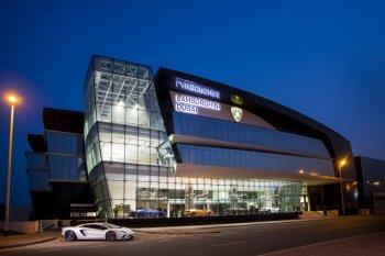 Lamborghini khai trương showroom lớn nhất thế giới tại Dubai