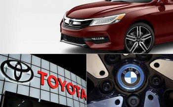 BMW, Honda, Toyota bị cáo buộc vi phạm bằng sáng chế tại Mỹ